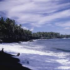 black sand beach big island black sand beaches in hawaii usa today