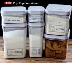 baking container storage organizing my baking supplies pint sized baker