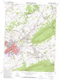 Colleges In Virginia Map by State College Topographic Map Pa Usgs Topo Quad 40077g7