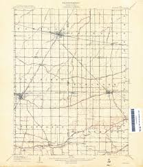 Franklin Ohio Map by Map Resources Findlay Hancock County Public Library