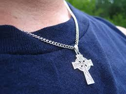 wear cross necklace images Celtic cross necklace wear the history jpg