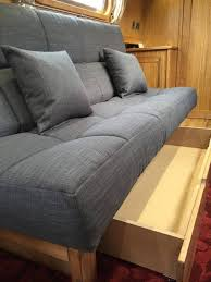 Large Sofa Bed Belvedere 3 Seat Sofa Bed With Large Storage Area Glamping Pods