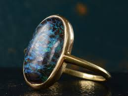 matrix opal ring eb boulder opal ring erie basin