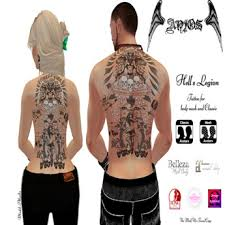 second marketplace hell s legion anjos tattoos delicatt