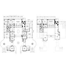 Spanish Style Floor Plans by Home Plans House Plan Courtyard Home Plan Santa Fe Style Home