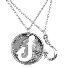 Buck And Doe Couples Necklace Browning Buck And Doe Necklace The Necklace
