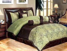Olive Bedding Sets Olive Green Comforter Sets Bg Sge Fux Olive Green Bedspread Set