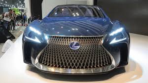 lexus lf fc lexus will release the automatic driving car