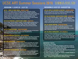 summer session 2016 art ucsc edu art department uc santa cruz