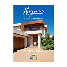 colour cards haymes paint