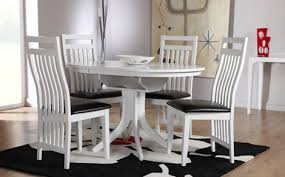 White Wooden Dining Table And Chairs Appealing White Wooden Dining Table And Chairs White Dining Table