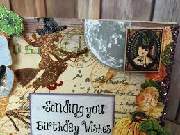 happy birthday halloween images happy halloween birthday so suzy stamps blog