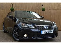 lexus ct200h sport used lexus ct 200h hatchback 1 8 f sport cvt 5dr in london