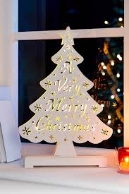 buy the wooden christmas tree with lights from k life your online