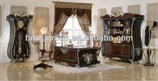 Hot Sale Luxury Office Desk Setantique Hand Carved Wooden Office - Luxury office furniture