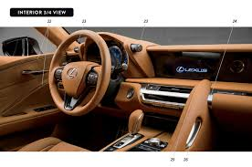 lexus lc 500h interior 2018 lexus lc 500 coming next may armed with 471 horsepower