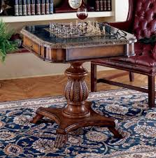 Poker Table Pedestal Antique Pedestal Game Table W Marble Top Furniture Pinterest