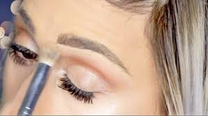 light grey eyebrow pencil drugstore eyebrow tutorial for silver grey ash blonde hair