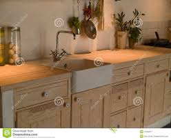 modern neo classical design wooden country kitchen royalty free