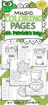 music coloring pages st patrick u0027s day math elementary music
