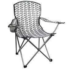 highlander mono print moray chair folding camping chairs