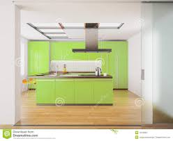 Kitchen Green Kitchen Colors Stock Modern Green Kitchen Royalty Free Stock Photography Image 19730967
