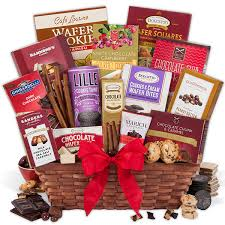 gift baskets for christmas christmas chocolate gift basket by gourmetgiftbaskets