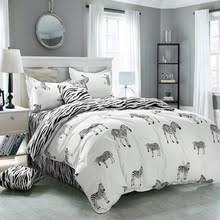 Zebra Print Single Duvet Set Online Get Cheap Zebra Kids Bedding Aliexpress Com Alibaba Group