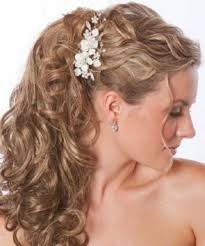 bridal hairstyle down curly popular long hairstyle idea