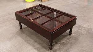 rustic coffee table with storage amazon com beautiful wood shadow box coffee table window coffee