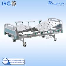 used hospital beds for sale hospital ce approved functions 2 crank manual patient bed