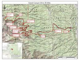 Grand Canyon Maps Grand Canyon Ultra Jun 02 2018 World U0027s Marathons