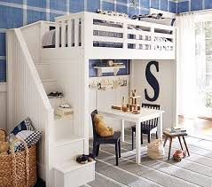 Pottery Barn Kids Bedrooms Really Amazing And Cool Pottery Barn Kids Loft Bed With Desk