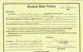 the hilarious detention slips that got students extra time in
