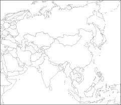 Asia World Map by Blank Map Of Asia By Zalezsky On Deviantart