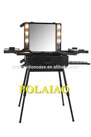 best lighting for makeup artists aluminium lighted makeup aluminium lighted makeup