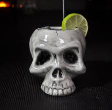 halloween barware skull cocktail mug by bespoke barware notonthehighstreet com