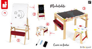 tableau bureau bureau tableau modulable 2 en 1 splash mobilier chambre d enfant