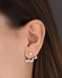 ear earrings jacket earrings