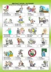 abstract nouns for kids abstract nouns nouns for kids and