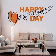 Valentine S Day Living Room Decor by Aliexpress Com Buy Valentine U0027s Day Wall Decals Quote Decorations