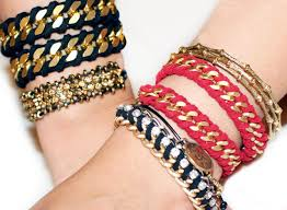bracelet chain diy images My diy rope wrapped chain bracelet jpg