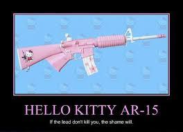Hello Kitty Meme - kitty ar15