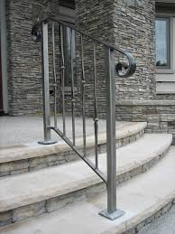 Metal Stair Rails And Banisters Outdoor Stair Railings Pin It Like Website U2026 Pinteres U2026