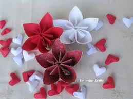Origami 3d Flower Vase Katherina Krafts Puffy 3d Origami Hearts