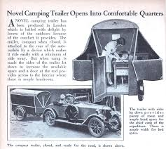 Comfortable Camping Novel Camping Trailer Opens Into Comfortable Quarters Modern