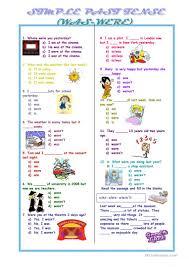 563 free esl past tense worksheets