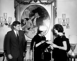 Kennedy Jacqueline Ar6351 C President Kennedy And Jacqueline Kennedy Accept
