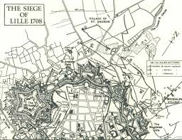 fortified places sieges lille 1708