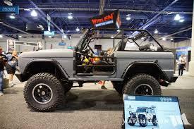 ford bronco jeep 2016 sema zero to go ford bronco
